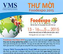 Thư Mời Triển Lãm FoodExpo Viet Nam 2015