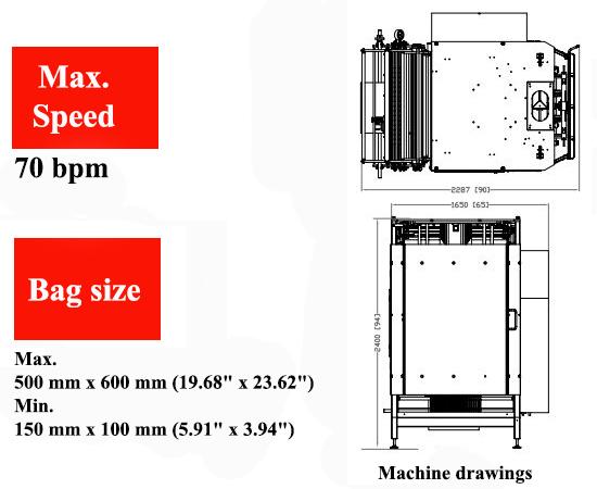 Máy đóng gói VFFS M500
