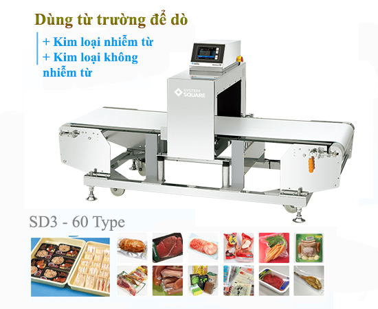may do kim loai trong thuy san SDIII 60 Type