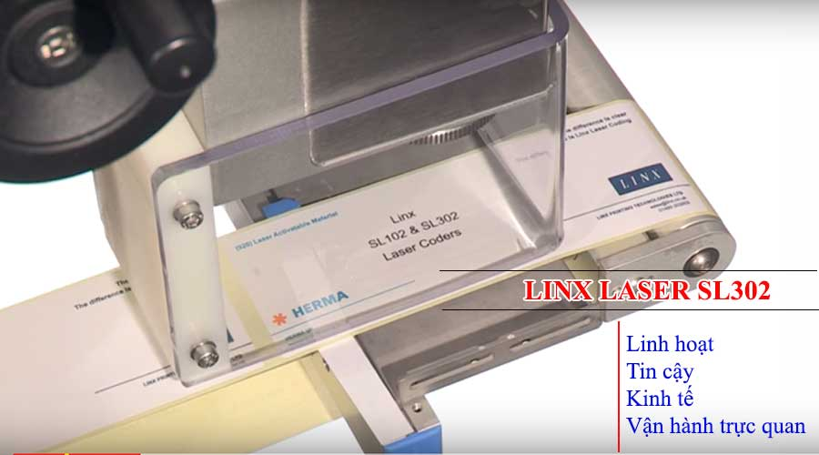 May in khac laser Linx SL302