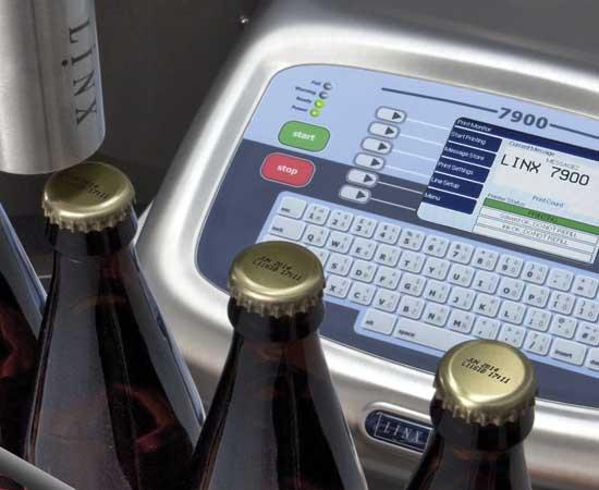 Máy in date code Linx 7900