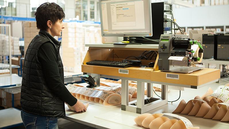 Máy in barcode và ứng dụng quản lý