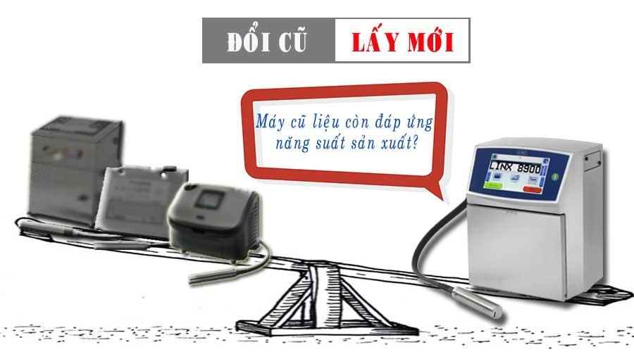 Thu cu doi moi may in date code