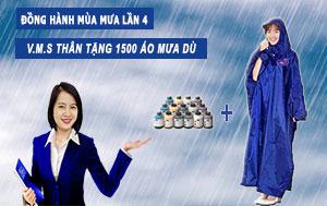 tặng áo mưa