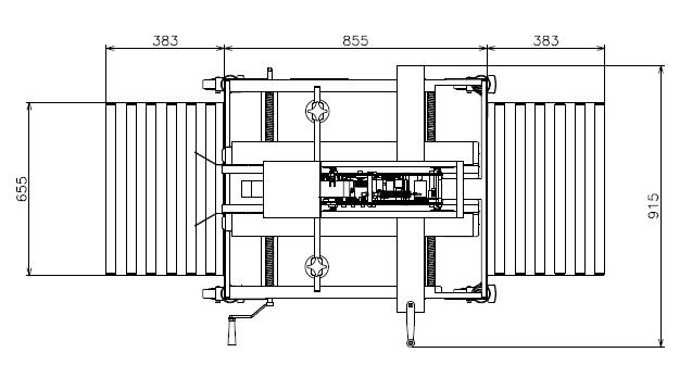 Máy dán thùng carton TMD-C26U