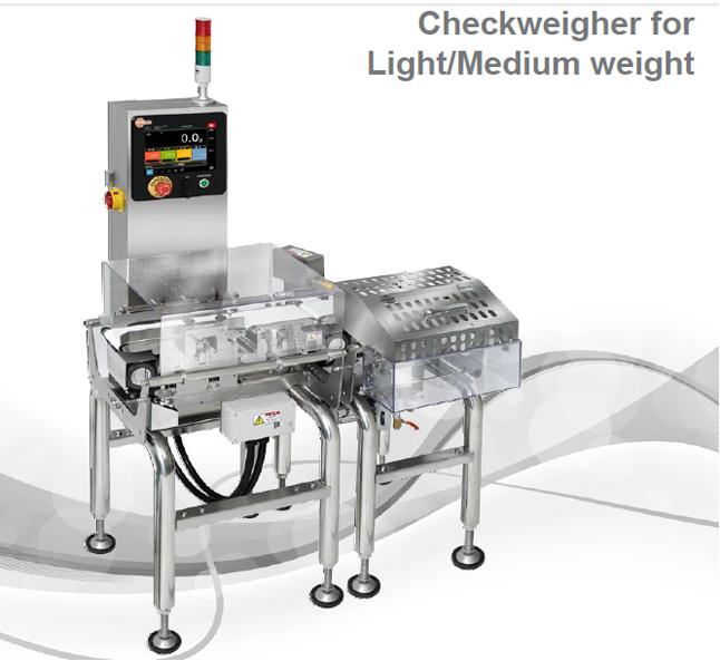 Máy cân kiểm tra trọng lượng nhẹ và vừa
