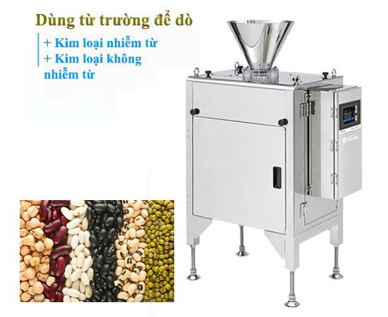 Máy dò kim loại dạng rơi công nghiệp cung cấp bởi VMSCO.VN
